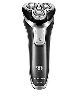flyco fs378 lâmina de barbear elétrica 100240v indicador de carga rápida