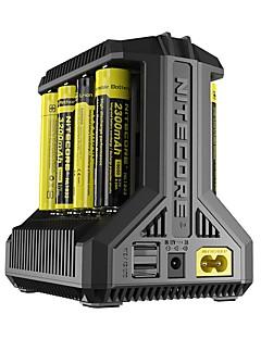baratos Total Promoção Limpa Estoque-Nitecore Intellicharger i8 Carregador de Bateria Portátil Multi funções para Li-Ion