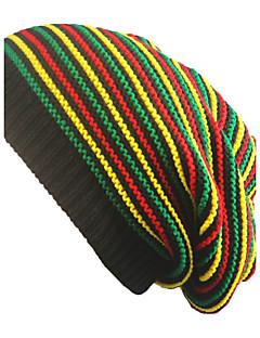 Χαμηλού Κόστους Fashionably Warm-Γιούνισεξ Ουράνιο Τόξο Καπέλο Αγνό Χρώμα - Καπελίνα