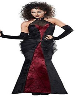 Trollmann/heks Dronning Cosplay Kostumer Voksne Halloween Festival/høytid Halloween-kostymer Mote Vintage