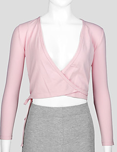 バレエ トップス 子供用 訓練 コットン 1個 長袖 コート