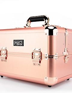 Plastična vrećica Kutija za šminku Jednobojni Quadrate Slitina metala