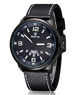 billige Digitalure-Herre Dame Quartz Digital Watch Armbåndsur Smartur Militærur Sportsur Kinesisk Kalender Stor urskive Læder Bånd Vedhæng Luksus Kreativ