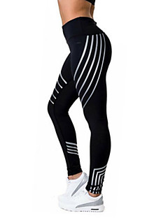 Women's Medium Print Legging,Color Block