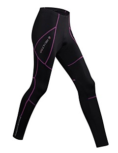 Realtoo Cycling Tights Women's Bike Bottoms Bike Wear Quick Dry Breathability 3D Pad Bike/Cycling