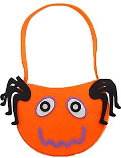 Spøkelse Monstere Gresskar Bagger og vesker Halloween Festival / høytid Halloween-kostymer Oransje Mote