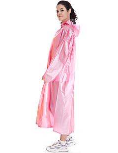 tanie Odzież turystyczna-Damskie Unisex Płaszcz przeciwdeszczowy na wolnym powietrzu Wiosna Lato Jesień Przenośny Ochrona przed deszczem Transparentny Odzież sportowa Odzież PVC Płaszcz przeciwdeszczowy Nie dotyczy Kemping i