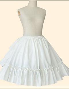 甘ロリータ プリンセス 女性用 女の子 スカート ペチコート コスプレ ホワイト ベージュ