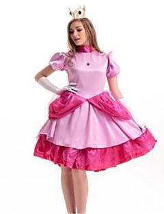 billige Halloweenkostymer-Cinderella Cosplay Kostumer Halloween Festival / høytid Halloween-kostymer Rosa Mote