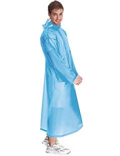 tanie Odzież turystyczna-Damskie Dla obu płci Dlouhá pláštěnka Na wolnym powietrzu Przenośny Rain-Proof Przezroczyste Płaszcz przeciwdeszczowy N / Camping &