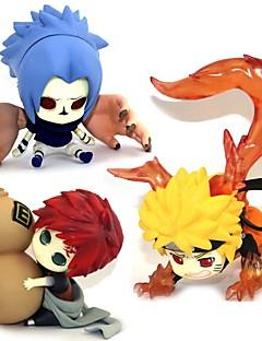 Anime Action Figurer Inspirert av Naruto Sasuke Uchiha PVC 5-7 CM Modell Leker Dukke