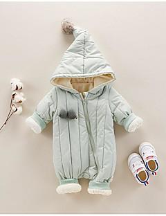 Baby Einzelteil Volltonfarbe Polyester 100% Baumwolle Herbst Winter