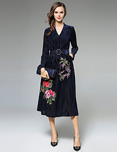 Maxlindy Women's Party Going out Daily Sexy Vintage Sophisticated A Line Dress