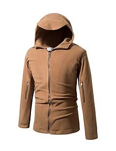 コート レギュラー パッド入り メンズ,カジュアル/普段着 ソリッド カシミヤ グレイダックダウン 長袖