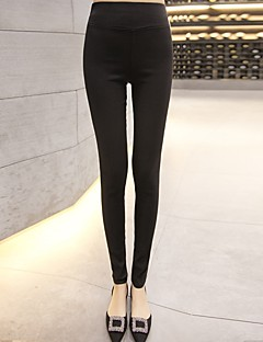 medium medium legging voor dames, stevige mode. strak. stretch broek,