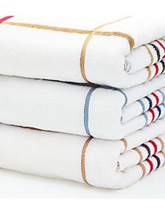 Frischer Stil Badehandtuch,Streifen Gehobene Qualität Gemischte Polyester/Baumwolle Handtuch