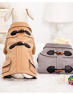 billiga Hundkläder-Hund Kappor Hundkläder Ledigt/vardag Brittisk Kostym För husdjur