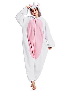 Kigurumi Pyjamas Enhjørning Kostume Rosa Polar Fleece Syntetisk Fiber Kigurumi Trikot / Heldraktskostymer Cosplay Festival / høytid