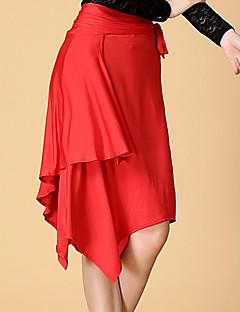 Latein-Tanz Unten Damen Training Elasthan Milchfieber Normal Röcke