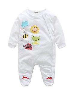 Baby Einzelteil Tier Baumwolle Frühling/Herbst Lange Ärmel