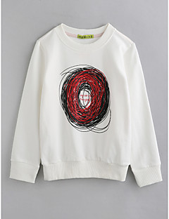 Jungen Bluse Geometrisch Baumwolle Herbst Lange Ärmel