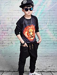 billige Tøjsæt til drenge-Børn Drenge Dyr Bomuld Tøjsæt