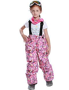 Девочки Лыжные брюки Быстровысыхающий Сохраняет тепло С защитой от ветра Водонепроницаемая молния Пригодно для носки Устойчивы к
