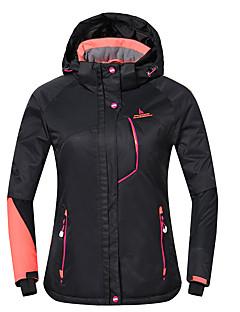 Phibee Jaqueta de Esqui Mulheres Esqui Quente Prova-de-Água A Prova de Vento Vestível Respirabilidade Antiestético Poliéster Jaqueta