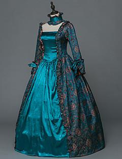 Costume petrecere Mascaradă Steampunk® Inspirație Vintage Βικτωριανής Εποχής Rococo Prințesă Stil Vedetă Medieval Renascentist Cosplay