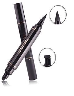 1kpl meikki nestemäinen eyeliner leimasin lyijykynä vedenpitävä silmälasien musta väri kosmetiikka