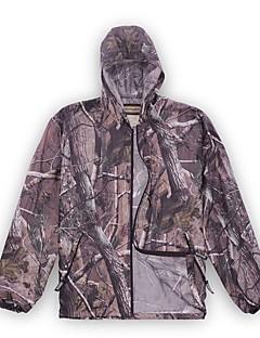 Камуфляжная куртка для охоты Универсальные Быстровысыхающий Воздухопроницаемость Катание по пересеченной местности камуфляж Жакет Длинный