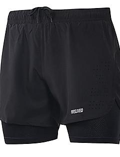 billige Løbetøj-Arsuxeo Herre Løbeshorts Sport Shorts / Underdele Træning & Fitness, Fritidssport, Løb Hurtigtørrende, letvægtsmateriale, Refleksbånd