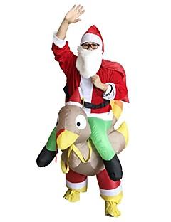 billige julen Kostymer-Ferie Nisse drakter julenissen Herre Dame Jul Karneval Første april Maskerade Valentinsdag Bursdag Oktoberfest Nytt År Barnas Dag