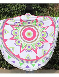 Frisk stil Strandhåndkle,Kreativ Overlegen kvalitet 100% Polyester Håndkle