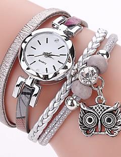 baratos -Mulheres Relógio Casual Relógio de Moda Bracele Relógio Simulado Diamante Relógio Chinês Quartzo imitação de diamante PU Banda Casual