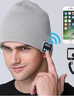 Gorro de Esqui Esqui Crânio Caps Homens Mulheres Controle de som Bluetooth Térmico/Quente A Prova de Vento Bluetooth sem fio Pranchas de