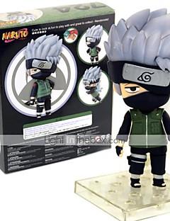 Anime Action Figurer Inspirert av Naruto Hatake Kakashi 10 CM Modell Leker Dukke