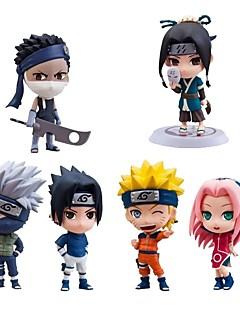 billige Anime cosplay-anime action figurer inspirert av naruto sasuke uchiha pvc cm modell leketøy dukke leketøy