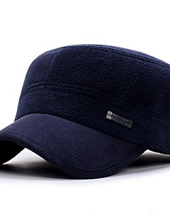 Erkek Günlük Pamuklu Baseball Şapkası,Tüm Mevsimler Jednolity kolor Saf Renk