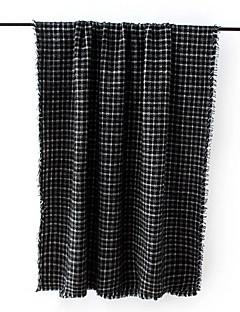 Dame Rektangulær,Høst Vinter Gitter Polyester
