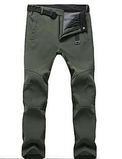 baratos Calças e Shorts para Trilhas-Homens Calças de Trilha Quente, Prova-de-Água, A Prova de Vento Acampar e Caminhar / Esqui Poliéster Calças Roupa de Esqui