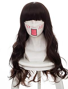 billige Anime cosplay-Cosplay Parykker Kode: Innse Cardia Beckford Anime Cosplay-parykker 75 CM Varmeresistent Fiber Dame