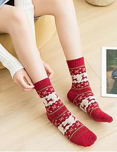 cheap Socks & Hosiery-Women's Medium Socks-Reindeer