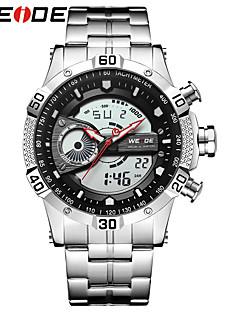 WEIDE Herrn Armbanduhren für den Alltag Sportuhr Modeuhr Kleideruhr Armbanduhr Digitaluhr Japanisch digital Kalender Wasserdicht Duale