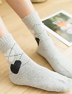billige Sokker og strømper til damer-Dame Sokker Ultravarm Ull,2pcs Rosa Lyseblå