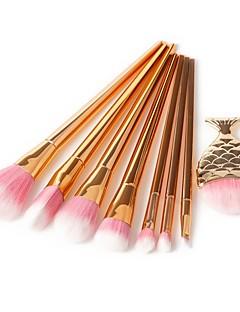 billige Sminkebørstesett-8pcs Makeup børster Profesjonell Børstesett Pony børste / Syntetisk hår / Kunstig fiber børste Økovennlig / Profesjonell / Myk Harpiks