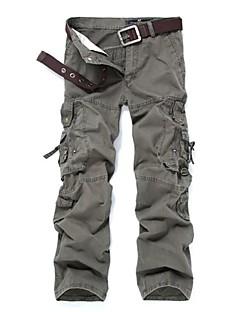 tanie Turystyczne spodnie i szorty-Męskie Turistické kalhoty Na wolnym powietrzu Wiatroodporna Zdatny do noszenia Spodnie Multisport