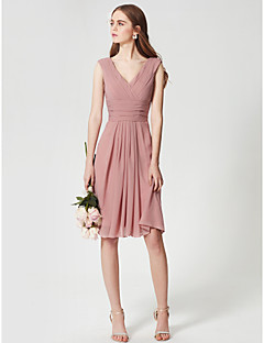 Tea Length Cheap Bridesmaid Dresses