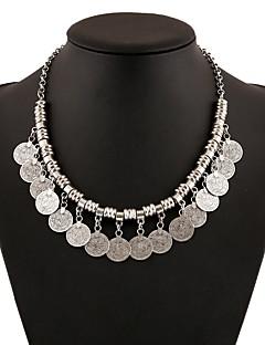 billiga Lolitaaccessoarer-Halsband Söt Lolita Halsband Vintage-inspirerad Dam Flickor Silver lolita tillbehör Konst Dekor Halsband Krom