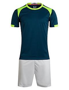 tanie Koszulki piłkarskie i szorty-Unisex Piłka nożna T-shirt Trener / Oddychalność Lato Solidne kolory Poliester Piłka nożna